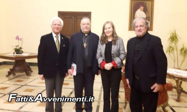 Presentato ad Agrigento al Cardinale Francesco Montenegro il 'Movimento Giorgio La Pira per il Mediterraneo'