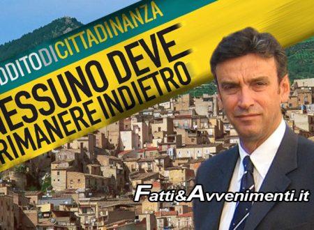 """Reddito di Cittadinanza.""""A Burgio esiste da 10 anni, paga il Comune e si risparmia pure"""", parola del sindaco Ferrantelli"""