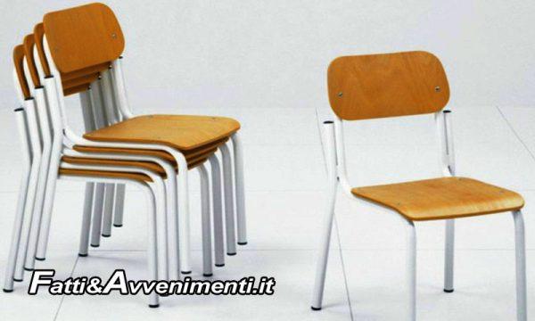 Sciacca: In arrivo nuove sedie per gli alunni delle scuole saccensi