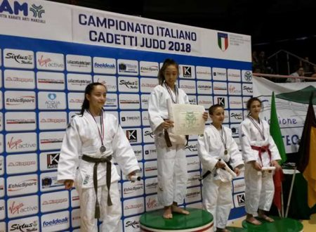 Sciacca. La 15enne  Giulia Giorgi vince  l'ORO ad Ostia ai Campionati Italiani di Judo
