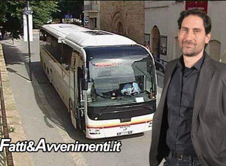 """Autolinee Sciacca-Palermo. Introdotto sistema prenotazione posti, Mangiacavallo: """"A presto incontro con Gallo"""""""