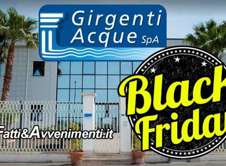 """""""Venerdì nero"""" per Girgenti Acque: il 27 convocata l'assemblea dell'ATI per la risoluzione del contratto"""