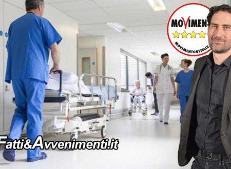 """Regione. Il M5S presenta il DDL """"Aziende Ospedaliere Territoriali"""" a firma dei deputati Mangiacavallo e Di Paola"""
