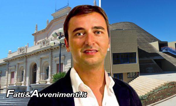 """Michele Catanzaro (PD): """"Su Terme e Teatro l'Ass.re Armao ha poche idee e molto confuse, in base a cosa riferiscono i suoi luogotenenti"""""""