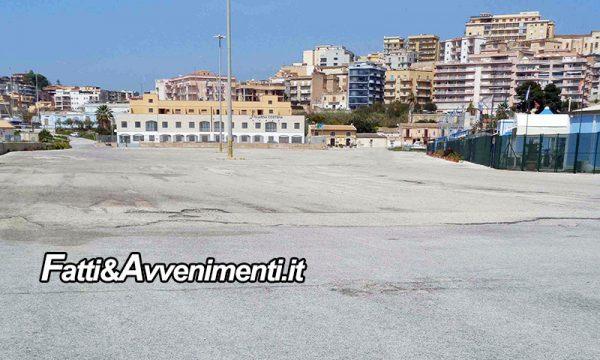 Sciacca. Sorgerà parcheggio con 300 posti auto nel piazzale Gaie di Garaffe: stamattina delimitata l'area