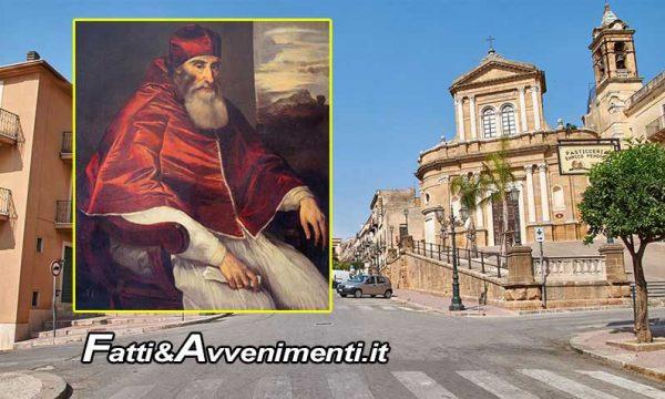 """Sambuca. Fino al 27 il capolavoro di Tiziano """"Ritratto di Paolo III Farnese"""" esposto al Museo d'arte sacra"""