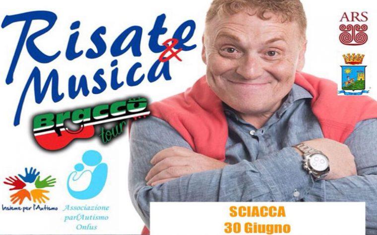 Sciacca. Risate&Musica con Fabrizio Bracconeri alla Sagra del Mare – Festa di San Pietro 2018 – INGRESSO GRATUITO