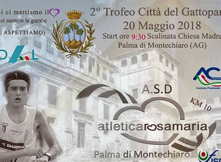 A.S.D. Marathon Club Sciacca ieri al 2° Trofeo podistico Città del Gattopardo, Palma di Montechiaro