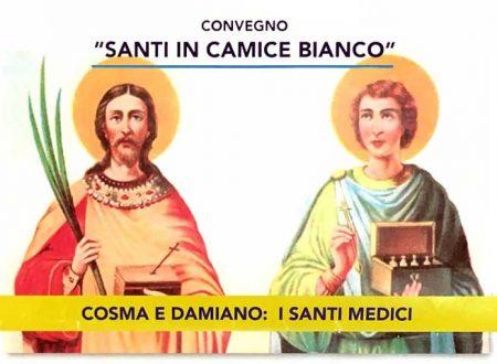 """Sciacca. Domani Venerdì 15 Convegno """"Santi in camice bianco"""""""