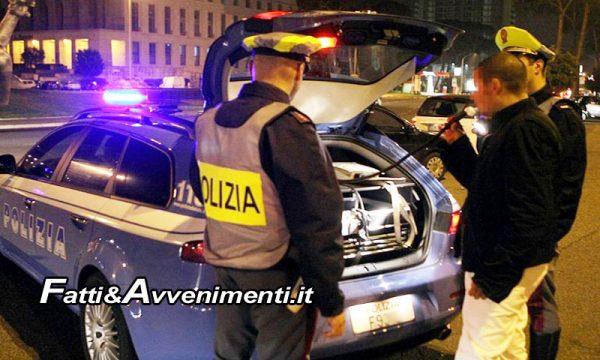 Messina. 34enne ubriaco guida a folle velocità sul Lungomare di Capo d'Orlando: bloccato dalla Polizia