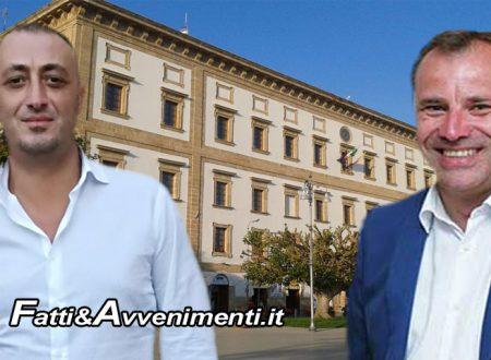 """Sciacca, San Marco. Muro caduto in Via Ulisse, Bono e Milioti: """"Serve intervento immediato, non bastano le promesse"""""""