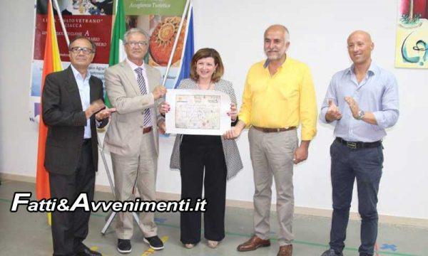 Sciacca 2018 Anno del cibo italiano. Convegno dell'Ente di Sviluppo Agricolo all'Istituto Amato Vetrano di Sciacca sul ruolo dei Borghi GeniusLoci De.Co.