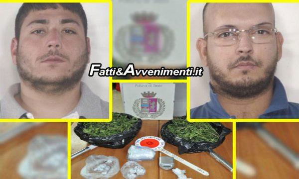 Minorenne custodiva 200gr di cocaina: arrestato insieme a due maggiorenni in auto con lui