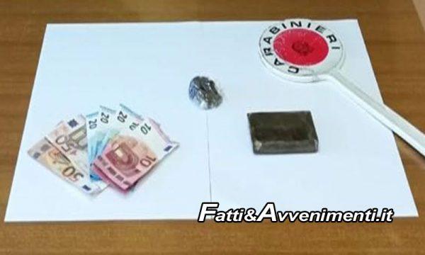 Santa Margherita. 18enne arrestato con mille euro di droga addosso