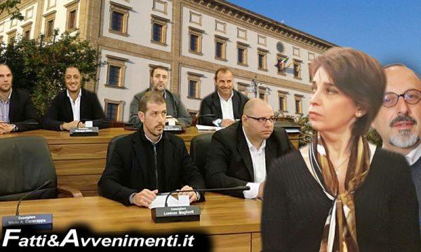 """Rete idrica. Consiglieri di opposizione saccensi contro la """"Dinastia Valenti"""": """"Francesca Valenti sia chiara senza tricerarsi in ambiguità parentali"""""""