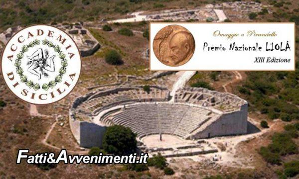 Palermo. Premio Nazionale LIOLÀ: Sabato 21 luglio sarà assegnato il Premio Nobel per la letteratura