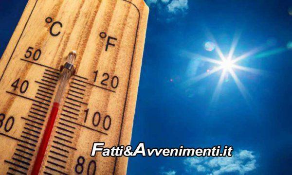 """Sicilia. Meteo, fine settimana """"infuocato"""" con temperature in aumento e punte anche di 40 gradi"""