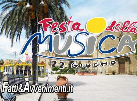 Sciacca. Festa della Musica, questa sera Concertone in piazza Scandaliato: presenta Roberta Mandalà