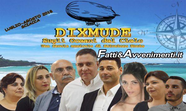 """Sciacca, Teatro. Va in scena il """"Dixmude – Sugli oceani del Cielo"""" scritto e diretto da Salvatore Monte"""