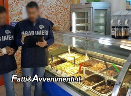 Gelato con-dito: I Nas sequestrano l'attrezzatura del bar di Palermo dove è stato acquistato
