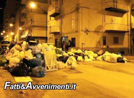 """Porto Empedocle. La rivolta della """"monnezza"""": strade invase e bloccate, si torna a raccogliere ma…"""
