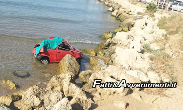 Gela, Tragedia. Cade in mare con la sua Fiat 600 al porto: muore a 57 anni