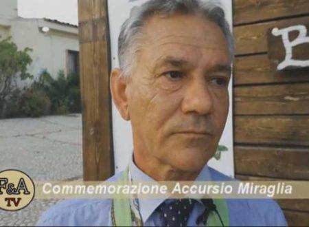 """Sciacca. Serata commemorazione Miraglia, Calogero Rappisi: """"Vissuto da uomo e morto da eroe"""""""