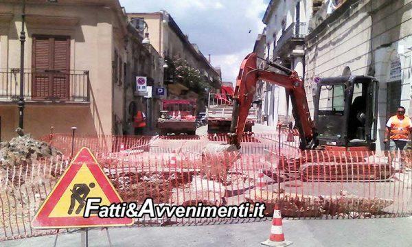 Sciacca. Domani chiuso al traffico il Corso Vittorio Emanuele per riparazione condotta idrica
