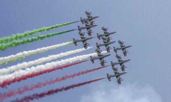 Palermo. Domani dopo 7 anni esibizione delle Frecce Tricolori nel cielo del Foro Italico