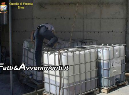 Enna, Finanza sequestra discarica abusiva da 32mila mq vicino a torrente: silos, camion, auto e fusti con oli tossici