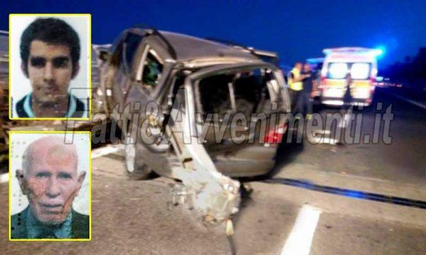 """Tragico incidente sulla A18. Auto si schianta contro il guard rail che la """"trafigge"""": morti zio e nipote"""