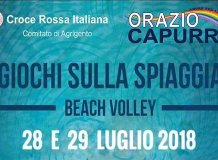28 e 29 luglio Torneo di beach volley organizzato da CRI e Ass. ORAZIO CAPURRO: ecco come partecipare
