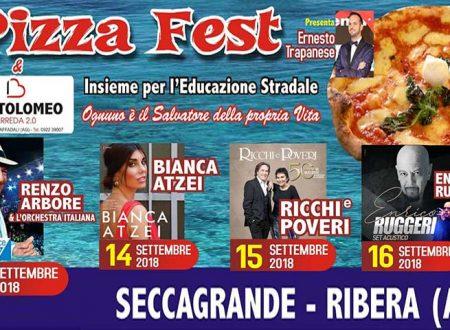 Ribera. Al Pizza Fest 2018 non solo musica ma anche impegno sociale: ecco gli eventi in programma