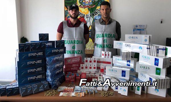 Palermo e Bagheria. Finanza sequestra 45kg di sigarette di contrabbando: due arresti