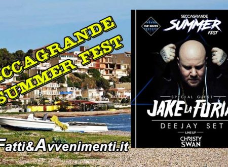 """Seccagrande Summer Fest"": il 13 agosto ""Jake La Furia"", il ""RE"" del Rap Italiano"