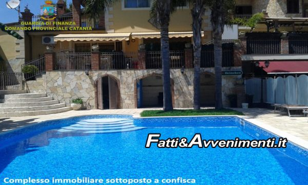 Catania. Confisca da 9 milioni di euro a due affiliati a clan Laudani, tra cui una lussuosa villa con piscina