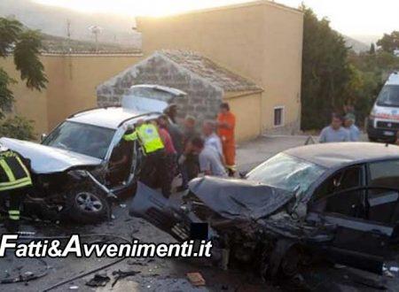 Custonaci (TP). Terrificante scontro frontale tra due auto: muore un 28enne