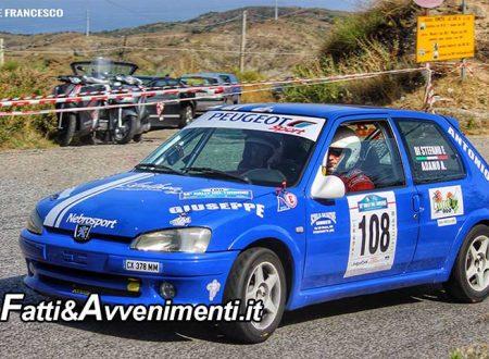 La Nebrosport l'11 e 12 agosto sulle strade del 15°  Rally del Tirreno