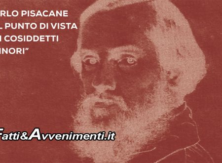 """Palermo. A Villa Niscemi: """"Carlo Pisacane e il punto di vista dei cosiddetti minori"""""""