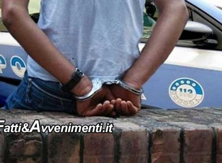 Caltanissetta, droga. Polizia arresta nigeriano: era ricercato in tutta Europa per reati commessi in Germania