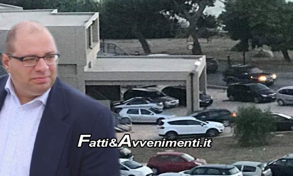"""Sciacca. Il Samonà ridotto a parcheggio, Salvatore Monte: """"Istallare vasi di piante per impedire l'ingresso delle auto"""""""