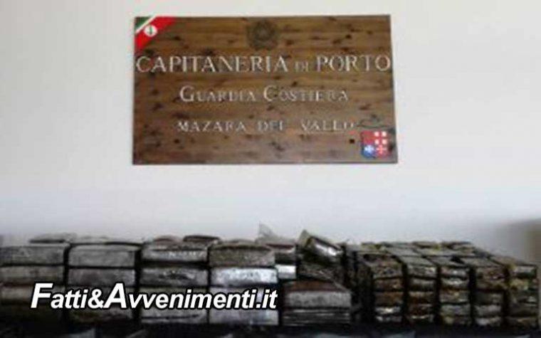 Mazara. La Guardia Costiera ritrova 80 kg di hashish mimetizzati da galleggianti all'ingresso del porto
