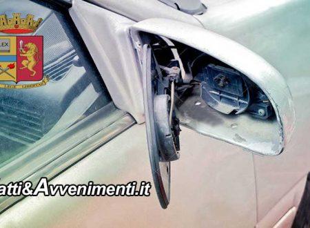 Sciacca. Due riberesi ubriachi e in possesso di droga beccati a rompore specchetti retrovisori di auto in sosta