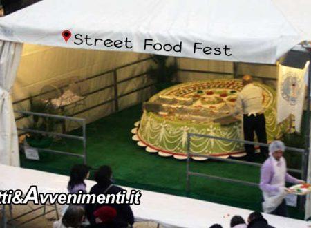 Sciacca. 8 agosto inaugurazione Street Food Fest 2018 con Cassata Monumentale da 250 kg