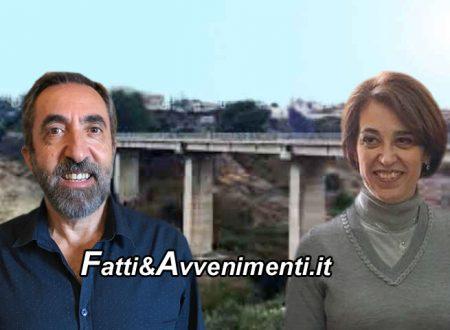 """Sciacca. Viadotto Cansalamone, Sindaco Valenti e Ass.re Neri: """"Schiacciata pila e non si conosce il costo del ripristino"""""""