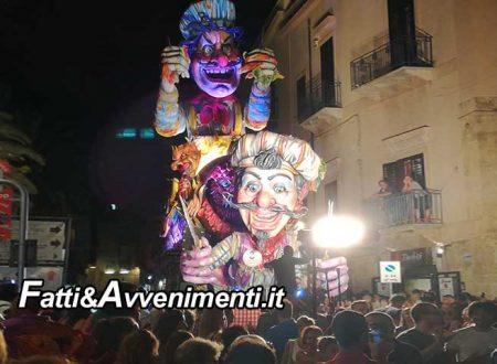 """Sciacca. 1° serata Carnevale estivo: Buona la prima, ma rimane """"l'incubo"""" pioggia"""