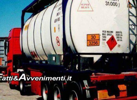 Sciacca, Agrigento e Canicattì. Controlli a trasporti pericolosi: elevate multe per 12 mila euro