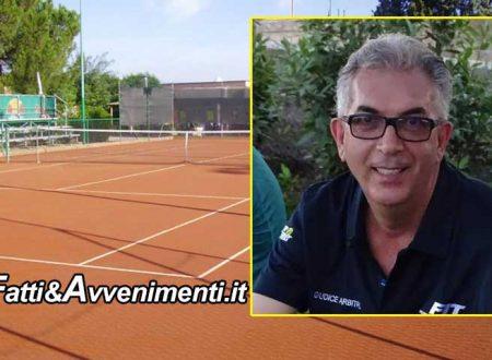 Il saccense Palumbo, domenica arbitrerà il match di serie 'A' tra il Circolo Tennis Palermo e il Sassuolo