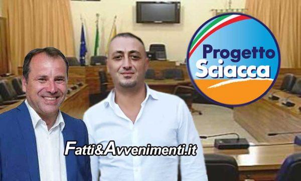 """Sciacca.  I consiglieri Bono e Milioti ricostituiscono il gruppo consiliare  """"Progetto Sciacca"""""""