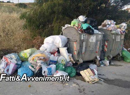 Sciacca. Rimossi i cassonetti di c.da Raganella: i residenti dovranno conferire i rifiuti all'isola ecologica